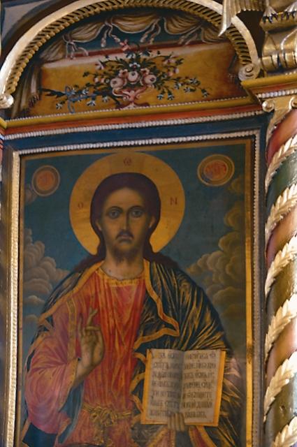 Икона Спасителя из иконостаса Троицкого храма