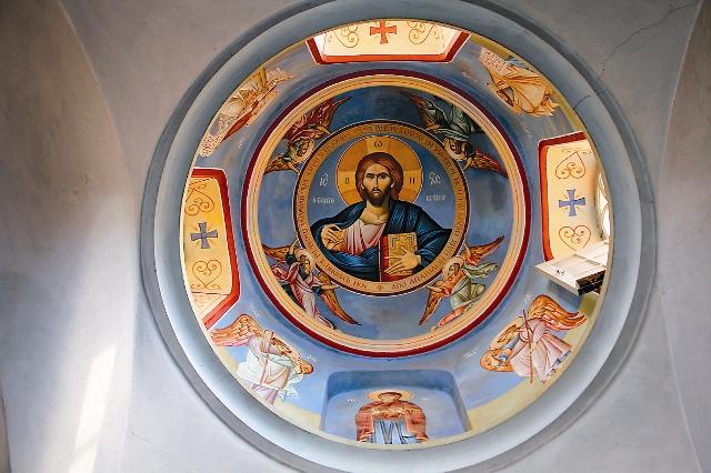 Купол монастырского храма