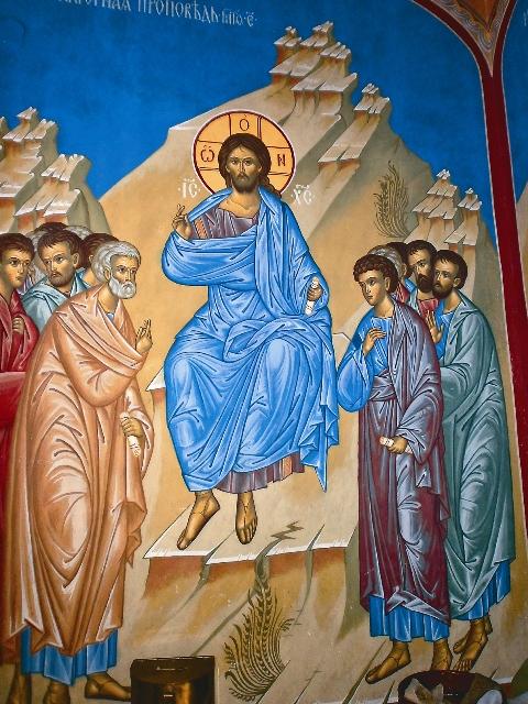 фрагмент росписи храма Марии Магдалины