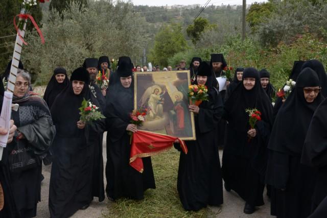 В Горненской женской обители вспоминают евангельское событие, повествующее о встрече Пречистой Девы Марии с праведной Елисаветой