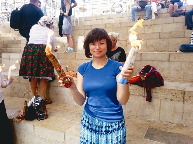 Наш автор Милена Бахвалова в Великую субботу