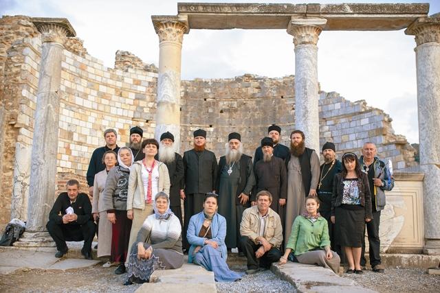 Группа паломников Барнаульской и Горно-Алтайской епархий