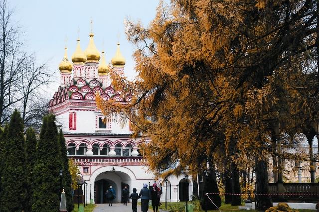 ИосифоВолоцкий монастырь