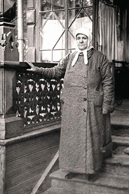Схимонахиня Серафима (Ольга Муравьева). 1940 год