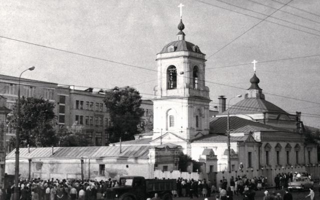 Преображенский храм 1960-е годы
