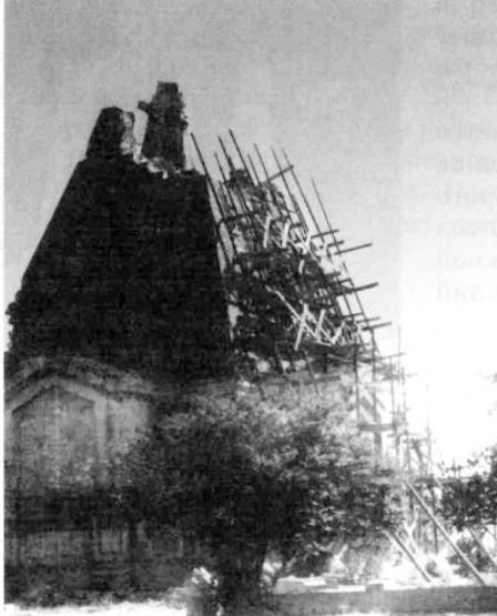 Никольский храм после войны