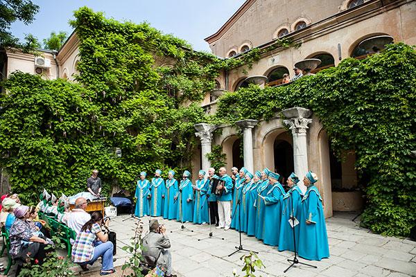 Херсонес Таврический традиционно становится центром торжеств, посвященных Дню славянской письменности и культуры