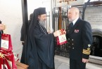 Священнослужители с теплотой и радушием приветствовали посланцев России на греческой земле