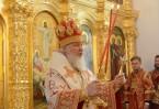 Патриарх Кирилл освятил храм в честь российской армии