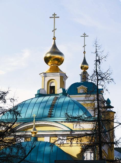 В 2014 году на праздник Преображения, в полувековой «юбилей» сноса храма, были освящены кресты на его новых куполах