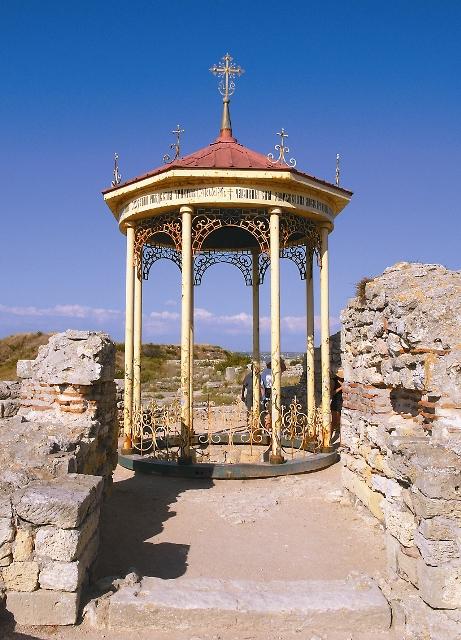 Место крещения князя Владимира в Херсонесе