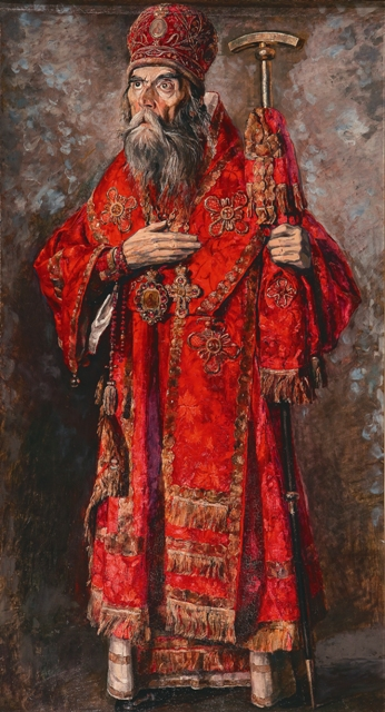 П. Корин. Митрополит Трифон (Туркестанов)