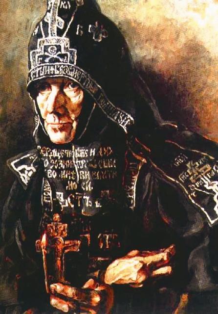 П. Корин. Схимница из Ивановского монастыря
