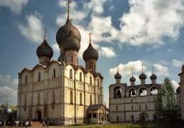 Успенский собор и звонница Ростовского кремля