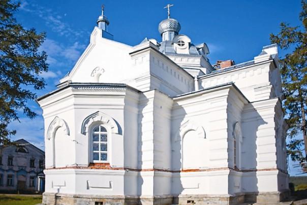 Восстановленный Никольский храм