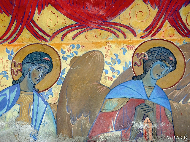 П. Корин. Роспись Покровского собора Марфо-Мариинской обители