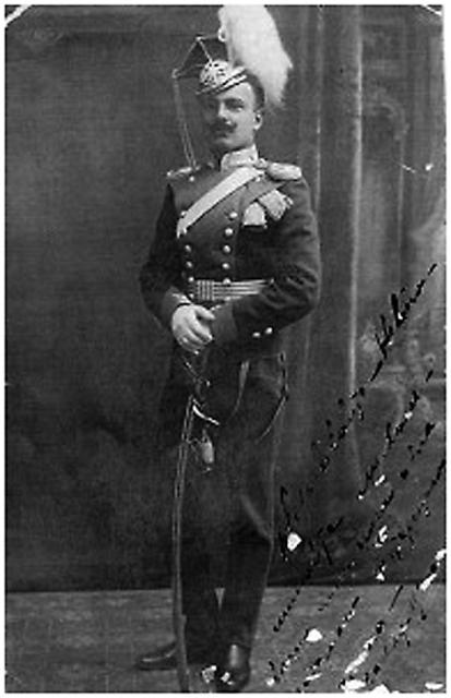 Василий Тимофеевич Юрицын, отец крестника императрицы. Фото из семейного альбома