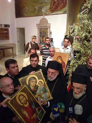Фото со страницы митрополита Луки в Facebook