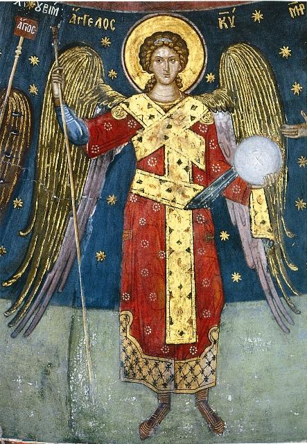 Ангел, второй лик господства. Греция. XVI в.
