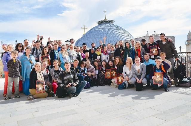 Более 150 человек из России, Украины и Белоруссии посетили храмы и монастыри Святой Земли