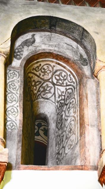Уникальный фрагмент домонгольской росписи