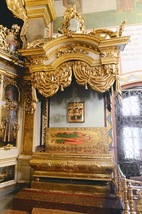 Рака с мощами святого князя Глеба Ростовского