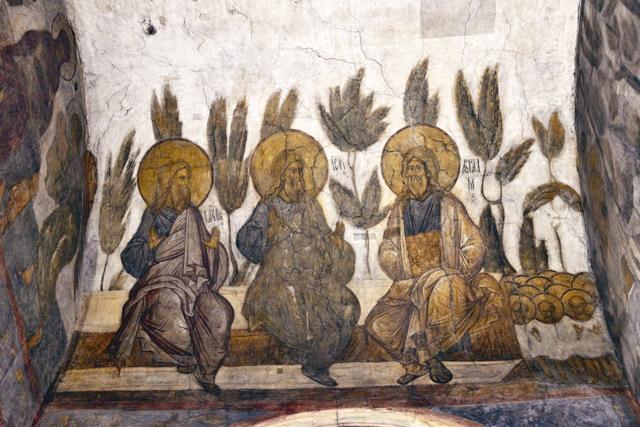Фрески Андрея Рублева и Даниила Черного