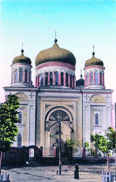 Десятинная церковь в начале ХХ века