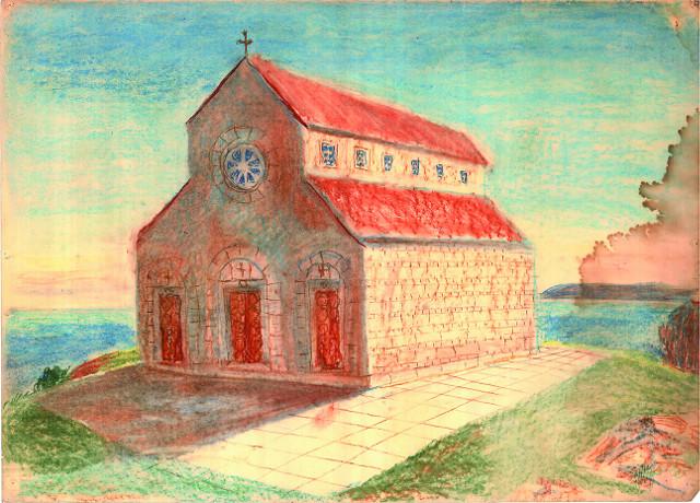 Храм, который построил в Херсонесе князь Владимир сразу после своего крещения