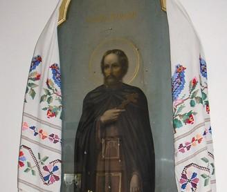 Икона преподобного Досифея в Петропавловском храме. Фото Галины Дигтяренко