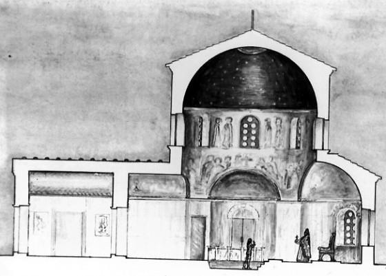 Крещальня. Реконструкция С.А. Беляева