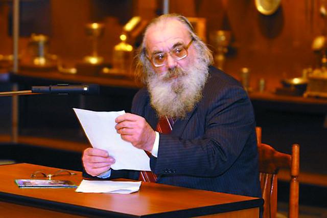 Сергей Алексеевич Беляев, историк, археолог, при непосредственном участии которого были явлены свету мощи тридцати православных святых