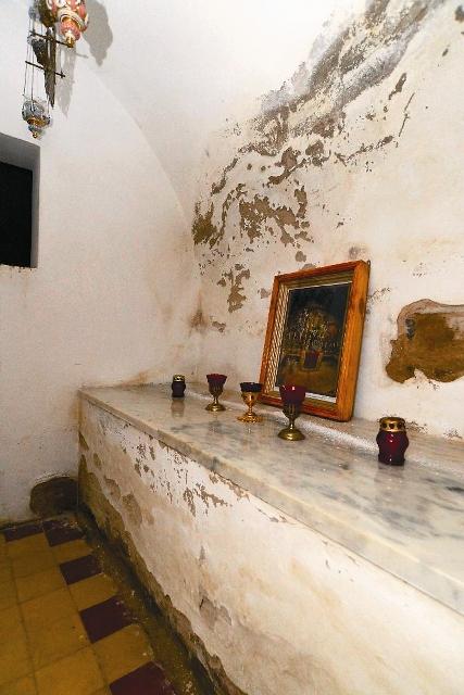 Пещерная воскресенская церковь. Гроб Господень