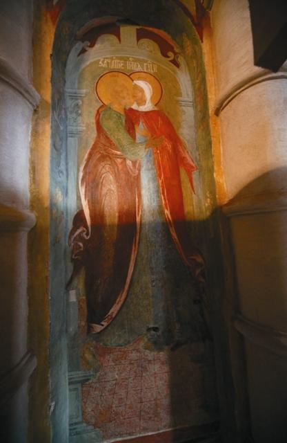 Чудотворная фреска Иоакима и Анны