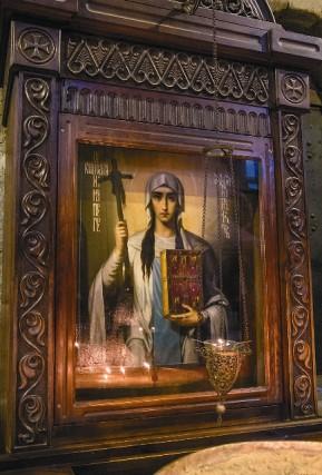 Храм Светицховели. Икона святой Нины