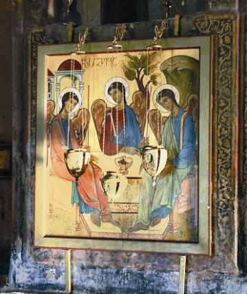 Храм Светицховели. Икона Превятой Троицы