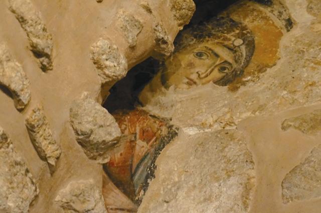 Фреска Сайданайского монастыря