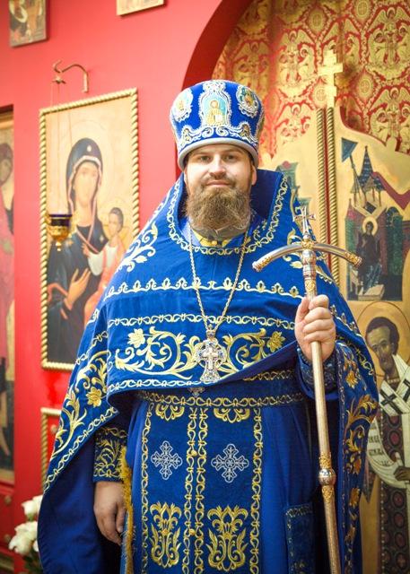 Настоятель прихода архимандрит Александр (Беля)