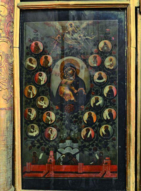 Икона «Насаждение древа государства Российского» из церкви Троицы в Никитниках