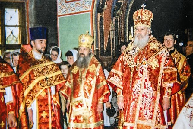15 мая 1999 года Патриарх Алексий II совершил Литургию в отреставрированном храме