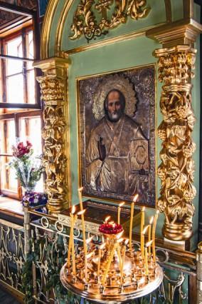 Икона Николая Мирликийского