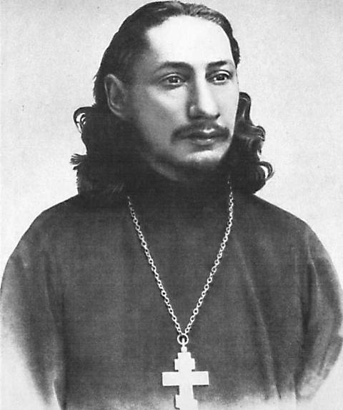 Священник Павел Флоренский. Расстрелян 8 декабря 1937 года. Реабилитирован в 1959 году