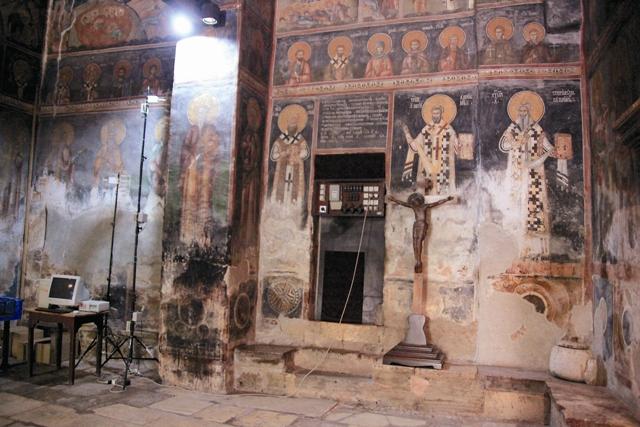 фрески Печского монастыя
