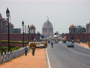 Дорога раджи в Дели