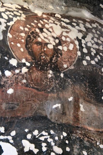 Фреска Спасского храма в Призрене