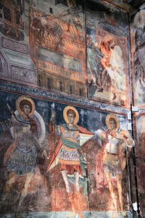 Фрески Печского монастыря