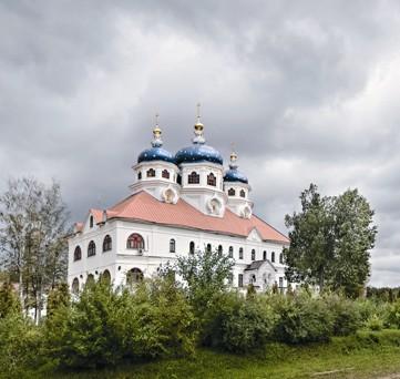 Административный корпус с храмом Ксении Петербургской