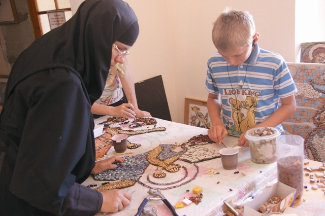 Обучение искусству мозаики