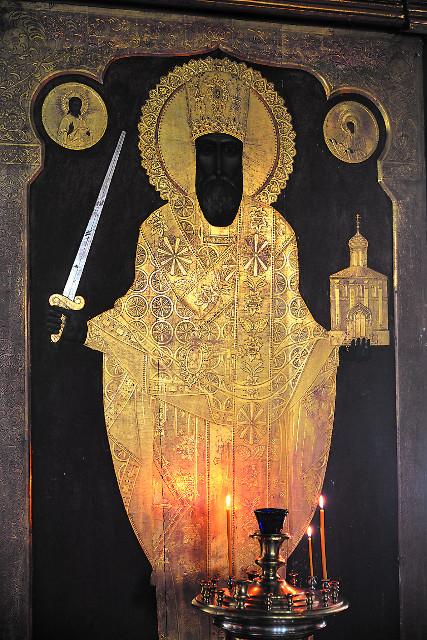Чеканный образ святителя николая