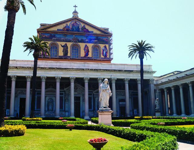 Собор святого Павла на Остийской дороге
